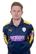 Hampshire all-rounder Liam Dawson in the 2016 Royal London One Day Cup Shirt. Hampshire CCC Headshots 2016 at the Ageas Bowl, Southampton, United Kingdom on 7 April 2016. Photo by David Vokes.