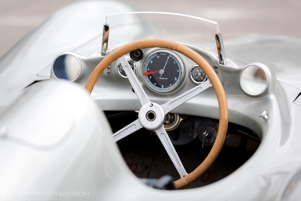 A classic Mercedes racing car at Goodwood for the 74th Members' Meeting.<br /> Picture date: Saturday March 19, 2016.<br /> Photograph by Christopher Ison &copy;<br /> 07544044177<br /> chris@christopherison.com<br /> www.christopherison.com