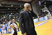 DESCRIZIONE : Campionato 2013/14 Dinamo Banco di Sardegna Sassari - Vanoli Cremona<br /> GIOCATORE : Cesare Pancotto<br /> CATEGORIA : Ritratto Delusione<br /> SQUADRA : Vanoli Cremona<br /> EVENTO : LegaBasket Serie A Beko 2013/2014<br /> GARA : Dinamo Banco di Sardegna Sassari - Vanoli Cremona<br /> DATA : 16/02/2014<br /> SPORT : Pallacanestro <br /> AUTORE : Agenzia Ciamillo-Castoria / Luigi Canu<br /> Galleria : LegaBasket Serie A Beko 2013/2014<br /> Fotonotizia : Campionato 2013/14 Dinamo Banco di Sardegna Sassari - Vanoli Cremona<br /> Predefinita :