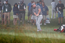 June 12, 2019 - Pebble Beach, CA, U.S. - PEBBLE BEACH, CA - JUNE 12: PGA golfer Ryan Fox plays the 15th hole during a practice round for the 2019 US Open on June 12, 2019, at Pebble Beach Golf Links in Pebble Beach, CA. (Photo by Brian Spurlock/Icon Sportswire) (Credit Image: © Brian Spurlock/Icon SMI via ZUMA Press)