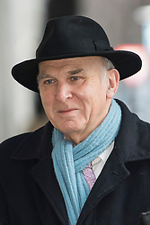 © Licensed to London News Pictures. 04/02/2018. London, UK. VINCE CABLE, leader of the Liberal Democrat Party, arrives at BBC Broadcasting House in London ahead of an appearance on The Andrew Marr Show on BBC One. Photo credit: Ben Cawthra/LNP