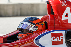 February 12, 2019 - U.S. - AUSTIN, TX - FEBRUARY 12: Matheus Leist (4) in a Chevrolet powered Dallara IR-12 waits for crew to finish during the IndyCar Spring Training held February 11-13, 2019 at Circuit of the Americas in Austin, TX. (Photo by Allan Hamilton/Icon Sportswire) (Credit Image: © Allan Hamilton/Icon SMI via ZUMA Press)