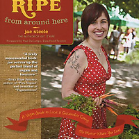 Cover for cookbook: Ripe from around here.