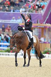 Davison, Richard, Artemis<br /> London - Olympische Spiele 2012<br /> <br /> Dressur Grand Prix de Dressage<br /> © www.sportfotos-lafrentz.de/Stefan Lafrentz