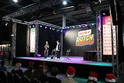 Dutch X-Mas Con is hét popcultuur evenement in Nederland, met een vleugje kerst! Tijdens deze editie zal Dutch X-Mas Con veel aandacht besteden aan cosplay, naast de gebruikelijke activiteiten zoals beroemde guests, tekenaars, dealers en nog veel meer.<br /> <br /> Op de foto:  Pink Stylist