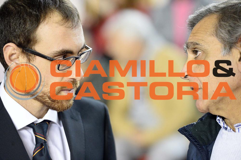 DESCRIZIONE : Roma Lega A 2014-15 Acea Virtus Roma Dinamo Sassari<br /> GIOCATORE : claudio toti<br /> CATEGORIA : pre game<br /> SQUADRA : Acea Virtus Roma Dinamo Sassari<br /> EVENTO : Campionato Lega Serie A 2014-2015<br /> GARA : Acea Virtus Roma Dinamo Sassari<br /> DATA : 02.11.2014<br /> SPORT : Pallacanestro <br /> AUTORE : Agenzia Ciamillo-Castoria/M.Greco<br /> Galleria : Lega Basket A 2014-2015 <br /> Fotonotizia : Roma Lega A 2014-15 Acea Virtus Roma Dinamo Sassari