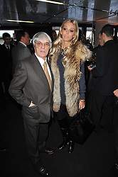 PETRA ECCLESTONE and BERNIE ECCLESTONE at the launch of One Hyde Park, The Residences at Mandarin Oriental, Knightsbridge, London on 19th January 2011.