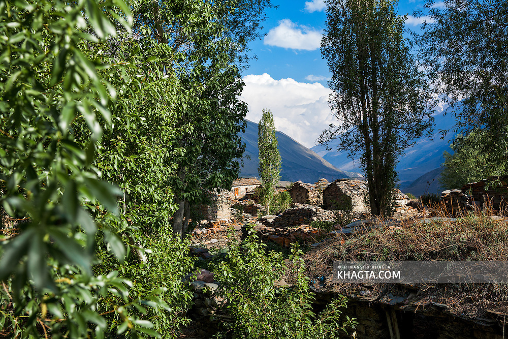 Milam village in Johar valley of Uttarakhand