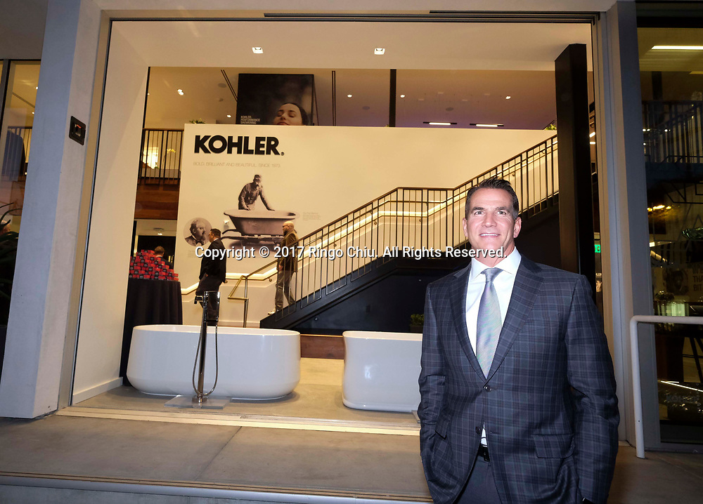 David Kohler, CEO of Kohler Co., in their new Experience Center in West Hollywood store. (Photo by Ringo Chiu)<br /> <br /> Usage Notes: This content is intended for editorial use only. For other uses, additional clearances may be required.