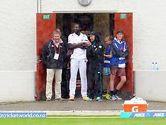Dunedin-Cricket, New Zealand v West Indies, 1st test, day 5