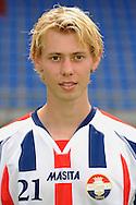 Tilburg -  Daan van Dinter, speler van Willem II, eredivisie, seizoen 2008 - 2009. ANP PHOTO ORANGEPICTURES BART BEL