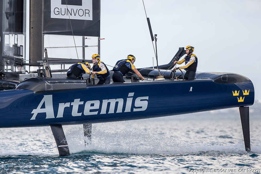 Artemis Racing. 28th of April, 2017, Bermuda