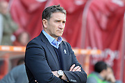 Nottingham Forest manager Philippe Montanier during the EFL Sky Bet Championship match between Nottingham Forest and Wolverhampton Wanderers at the City Ground, Nottingham, England on 17 December 2016. Photo by Jon Hobley.