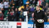 Steve Hansen New Zealand Head Coach before the 2015 Rugby World Cup semi final match at Twickenham Stadium, Twickenham<br /> Picture by Michael Whitefoot/Focus Images Ltd 07969 898192<br /> 24/10/2015