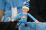 Manchester City Mascot. The FA Cup match between Manchester City and Port Vale at the Etihad Stadium, Manchester, England on 4 January 2020.