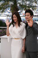 Kim Hyo-jin, Kim Kang-woo, at The Taste of Money photocall at the 65th Cannes Film Festival France. Saturday 26th May 2012 in Cannes Film Festival, France.