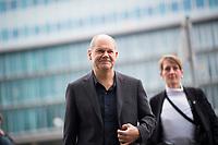 DEU, Deutschland, Germany, Berlin,03.02.2018: Hamburgs Bürgermeister Olaf Scholz (SPD) kommt zu den Koalitionsverhandlungen zwischen CDU/CSU und SPD im Konrad-Adenauer-Haus.