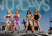 18.AUGUST.2013. LONDON<br /> <br /> THE SATURDAYS PERFORMING LIVE AT V FESTIVAL, HYLANDS PARK, CHELMSFORD, ON SUNDAY AUGUST 18, 2013.<br /> <br /> BYLINE: EDBIMAGEARCHIVE.CO.UK<br /> <br /> *THIS IMAGE IS STRICTLY FOR UK NEWSPAPERS AND MAGAZINES ONLY*<br /> *FOR WORLD WIDE SALES AND WEB USE PLEASE CONTACT EDBIMAGEARCHIVE - 0208 954 5968*