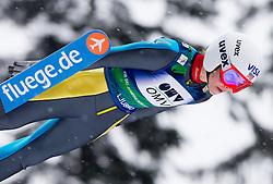 Sarah Hendrickson of USA during Normal Hill Individual Competition at FIS World Cup Ski jumping Ladies Ljubno 2012, on February 12, 2012 in Ljubno ob Savinji, Slovenia. (Photo By Vid Ponikvar / Sportida.com)