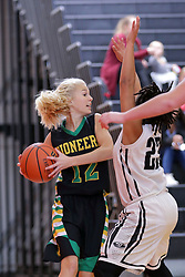 15 November 2017:  UHigh Pioneers v Normal West Wildcats at Girls Intercity in the gym at Normal Community in Normal IL