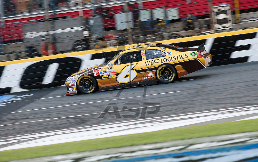 CONCORD, NC - MAY 21, 2011:  David Ragan takes to the track for the Showdown at the Charlotte Motor Speedway in Concord, NC.