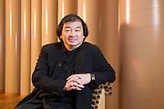 Japanese architect, Shigeru Ban, designer of the CAMPER Volvo Ocean Race pavilion. 29/10/2011