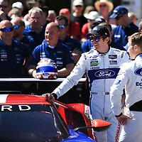 #69, Ford Chip Ganassi Team USA, Ford GT, driven by: Ryan Briscoe, Richard Westbrook, Scott Dixon, 24 Heures Du Mans Scruntineering, 12/06/2017,