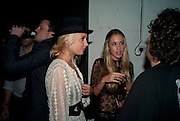 MARISSA MONTGOMERY; FLORENCE BRUDENELL-BRUCE,;  Nokia and Daid Bailey celebrate London ' Alive at Night' to launch Nokia N86. the Old Dairy, 6 Wakefield st. London. WC1. 26 August 2009.