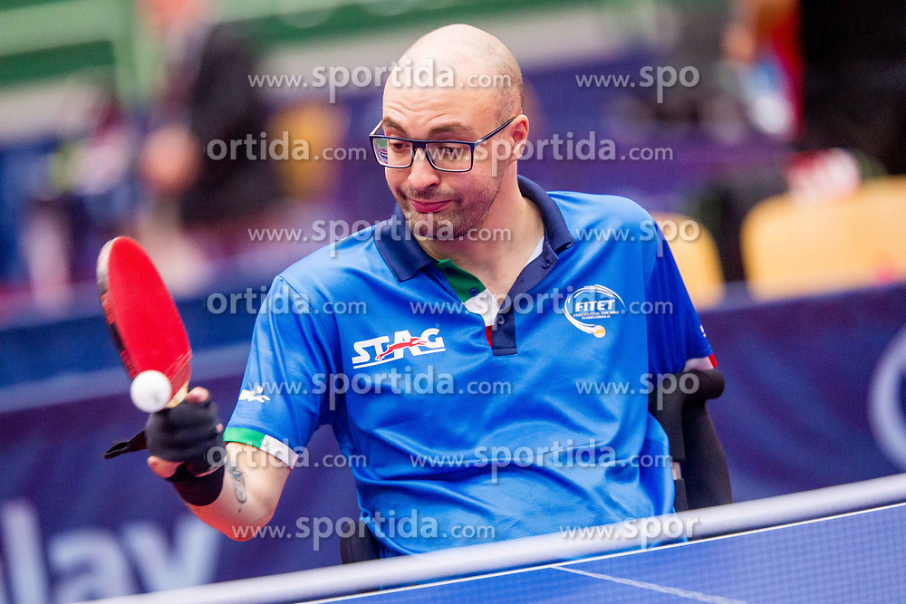 FALCO Federico during day 3 of 15th EPINT tournament - European Table Tennis Championships for the Disabled 2017, at Arena Tri Lilije, Lasko, Slovenia, on September 30, 2017. Photo by Ziga Zupan / Sportida