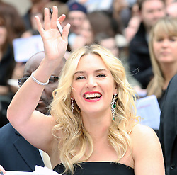 © Licensed to London News Pictures. 30/03/2014, UK. Kate Winslet, Divergent - European film premiere, Odeon Leicester Square, London UK, 30 March 2014. Photo credit : Richard Goldschmidt/Piqtured/LNP