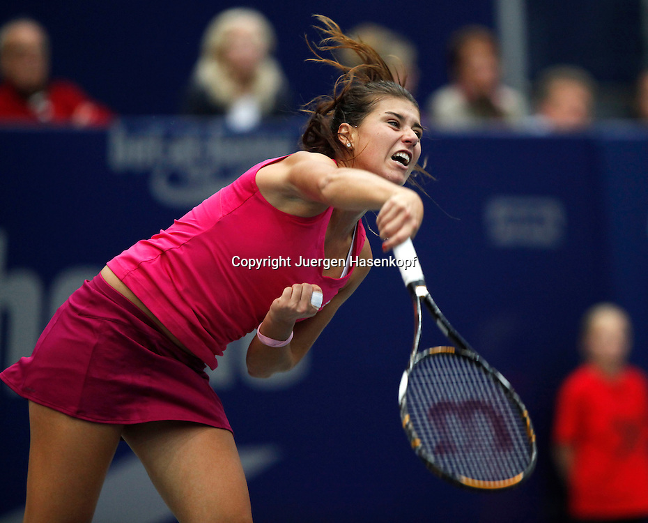 Generali Ladies Linz Open 2010,WTA Tour, Damen.Hallen Tennis Turnier in Linz, Oesterreich,.Sorana Cirstea (ROM).