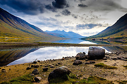 Autumn at Loch Etive in Glen Etive, Highlands of Scotland<br /> <br /> (c) Andrew Wilson | Edinburgh Elite media