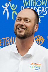 Joe Wolf, Milwaukee Bucks Assistant Coach, at Basketball Without Borders Europe for prospects under 17 with best coaches and some NBA legends on August 8, 2011, in Hala Tivoli, Ljubljana, Slovenia. (Photo by Matic Klansek Velej / Sportida)