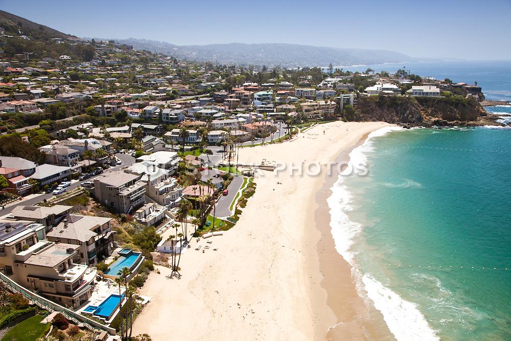 Laguna Beach Coastline Looking South Aerial Photo