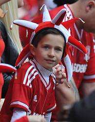 Middlesbrough Young Fan, Middlesbrough v Norwich, Sky Bet Championship, Play Off Final, Wembley Stadium, Monday  25th May 2015