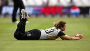 Suzie Bates catches Anjum Chopra during the ICC Women's World Twenty20 Cup semi-final between New Zealand and India at Trent Bridge. Photo © Graham Morris (Tel: +44(0)20 8969 4192 Email: sales@cricketpix.com)