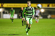Forest Green Rovers Elliott Frear(11) runs forward during the Friendly match between Weston Super Mare and Forest Green Rovers at the Woodspring Stadium, Weston Super Mare, United Kingdom on 11 October 2016. Photo by Shane Healey.