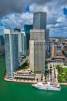 Downtown Miami featuring the InterContinental Hotel