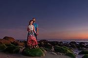 Portrait session in Santa Barbara, California.