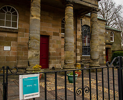 The lockdown is impacting on everybody with small towns looking more like ghost towns.  Residents of Penicuik, largest town in Midlothian,  are paying attention to the government guidance with churches empty on Sunday morning; non-essential shops closed; restricted access to those shops which are open; and maintaining distance when queueing.  Walks are taken along car lined streets wth moods brightened by rainbows in windows.