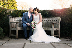 Dean and Katrina - Chichester Park hotel winter Wedding