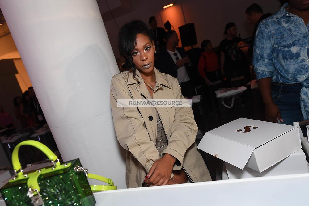 Rico Nasty attends Klarna STYLE360 NYFW Hosts S by Serena Fashion Show