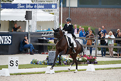 Hild Birgit, GER, Goldmond Tsf<br /> Longines FEI/WBFSH World Breeding Dressage Championships for Young Horses - Ermelo 2017<br /> © Hippo Foto - Dirk Caremans<br /> 03/08/2017