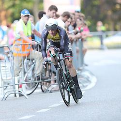 21-06-2017: Wielrennen: NK Tijdrijden: Montferland     <br /> s-Heerenberg (NED) wielrennen<br />Stef Clement werd tweee op het NK