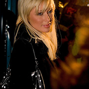 "Paris Hilton attends the Dave LaChapple party for his film 'Rize"" at the Gallery on old main street of Park City on the second day of the Sundance Film Festival Friday, Jan. 21, 2005 in Park City, Utah. August Miller"