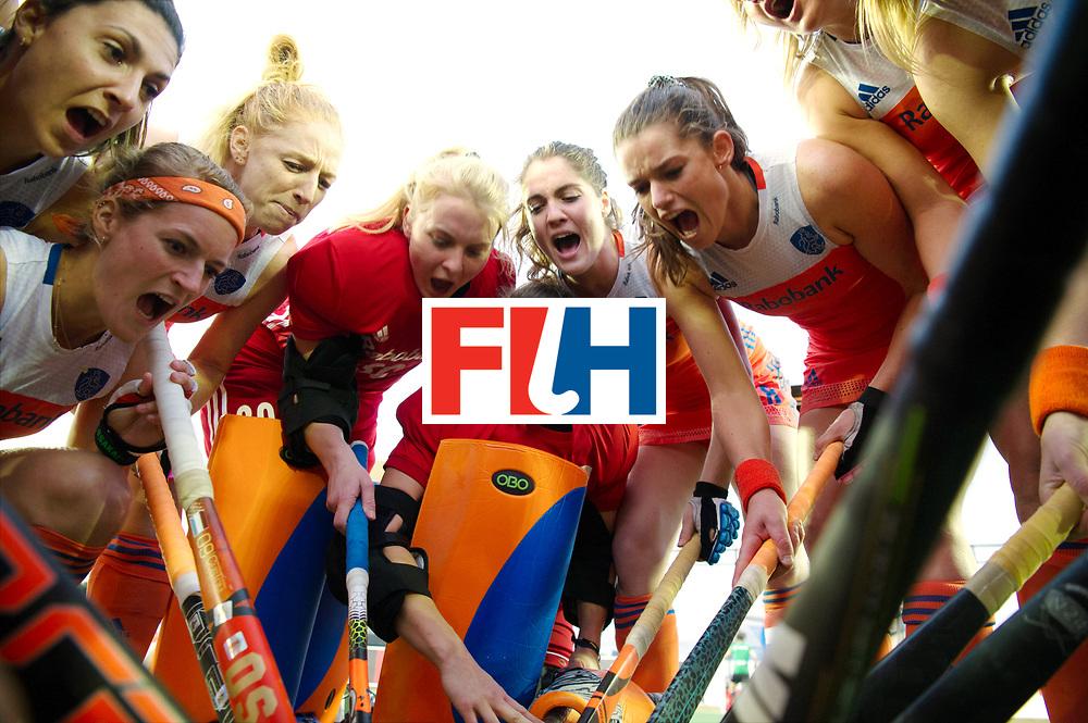 AUCKLAND - Sentinel Hockey World League final women<br /> Match id 10292<br /> 02 NED v NZL (Pool A)<br /> Foto:  huddle netherlands <br /> WORLDSPORTPICS COPYRIGHT FRANK UIJLENBROEK