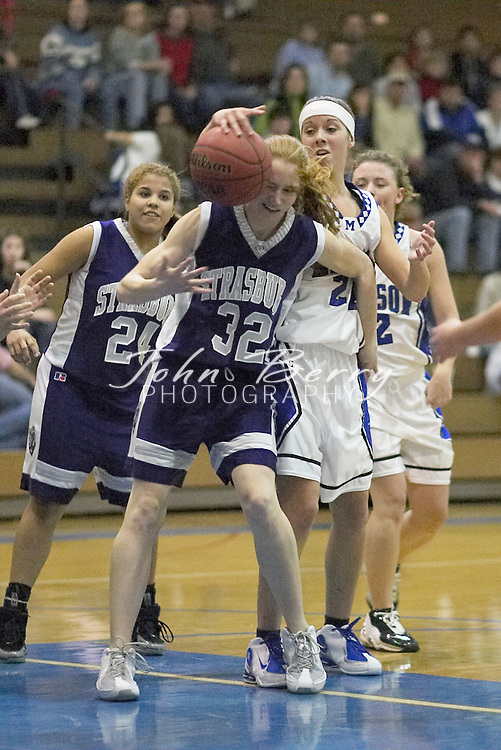 MCHS Varsity Girls Basketball..vs Strasburg..Second Period..December 17, 2004