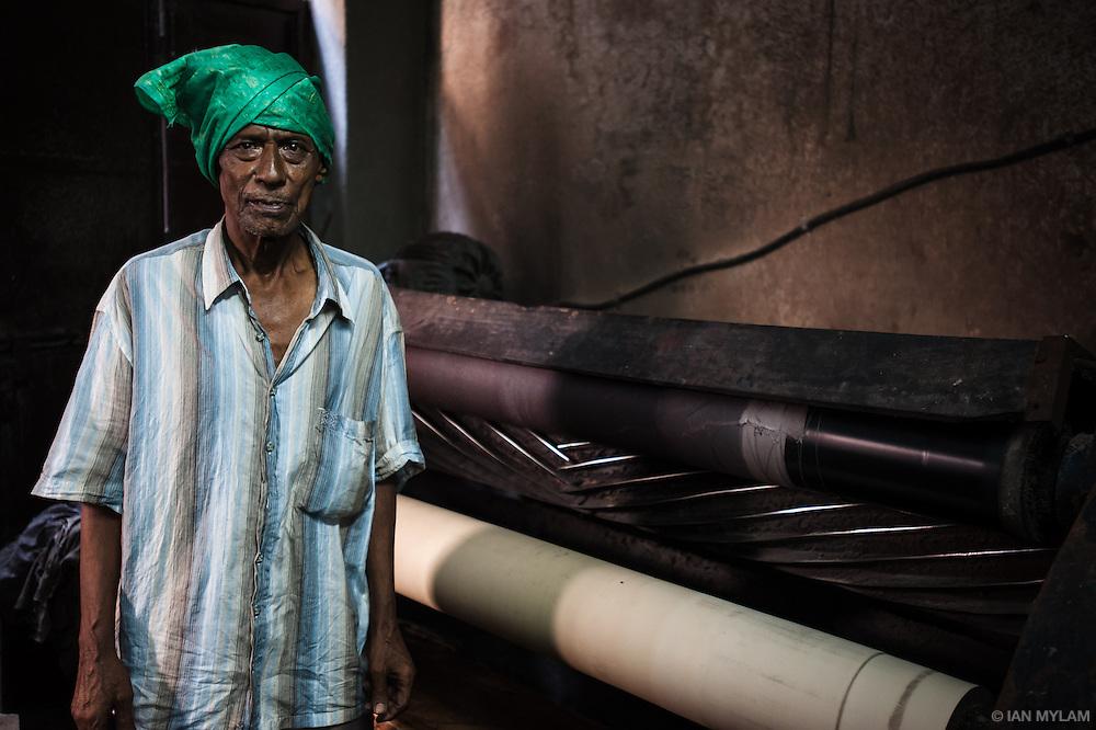 Factory Worker - Dharavi, Mumbai, India