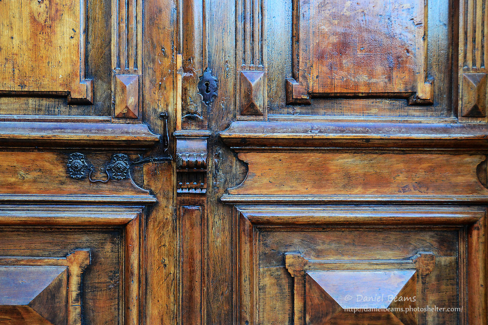 Detail of church door in Samaipata, Santa Cruz, Bolivia