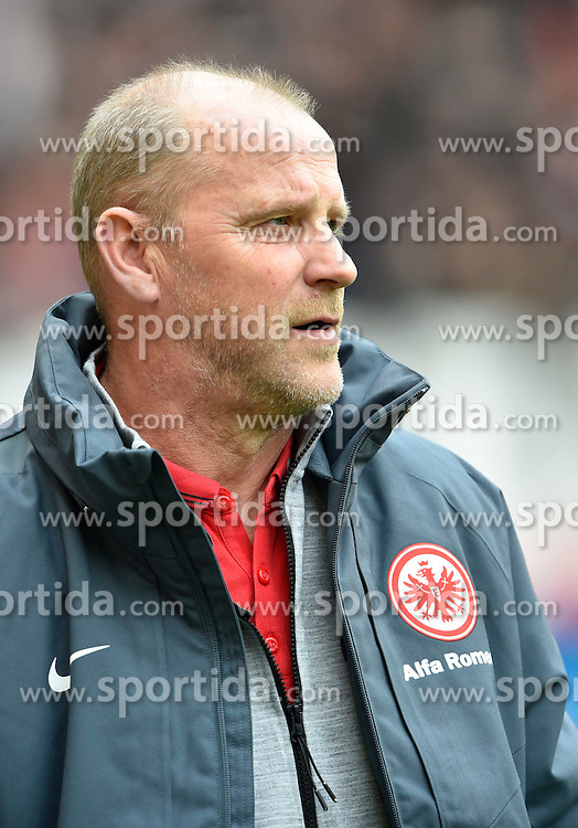 21.03.2015, Mercedes Benz Arena, Stuttgart, GER, 1. FBL, VfB Stuttgart vs Eintracht Frankfurt, 26. Runde, im Bild Trainer Coach Thomas Schaaf Eintracht Frankfurt Portrait Portraet // during the German Bundesliga 26th round match between VfB Stuttgart and Eintracht Frankfurt at the Mercedes Benz Arena in Stuttgart, Germany on 2015/03/21. EXPA Pictures &copy; 2015, PhotoCredit: EXPA/ Eibner-Pressefoto/ Weber<br /> <br /> *****ATTENTION - OUT of GER*****